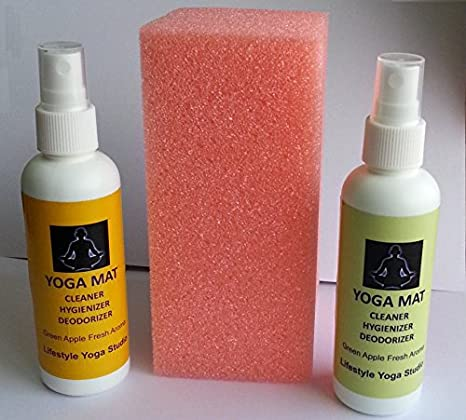 Buy Natural Rubber Yoga Mat Cleaner Online At Low Prices In India Amazon In