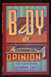 Body of Opinion, Susannah Stacey, 0671691708