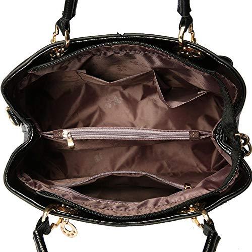 Sac 01 22cm ANLEI Main à à Femmes 30 Mode La Messenger 5 PU Couleurs Bag bandoulière Sac LYZ864 13 p1qd1rUw