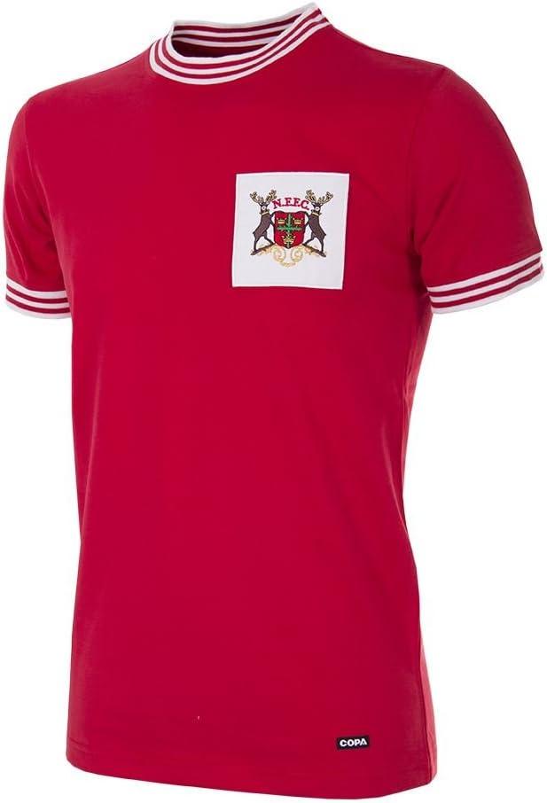 Nottingham Forest 1966-1967 Camisa de Fútbol Retro: Amazon.es: Deportes y aire libre