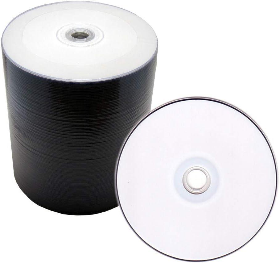 Melody 600 piezas blanco al por mayor imprimible Bulk Pack calidad profesional en blanco DVD-R disco, 16 x, 4,7 GB, 120 min. Para vídeo, vídeo y datos USO.: Amazon.es: Electrónica