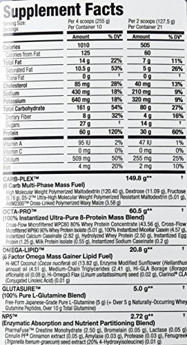 ALLMAX Nutrition QuickMass Loaded Mass Gainer, Chocolate, 6 lbs