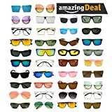 SunglassUP Wholesale Lot of 100 Assorted Mens Womens Readers Sunglasses Eye Prescription Glasses (100 Pairs (Mens,Womens,Readers))