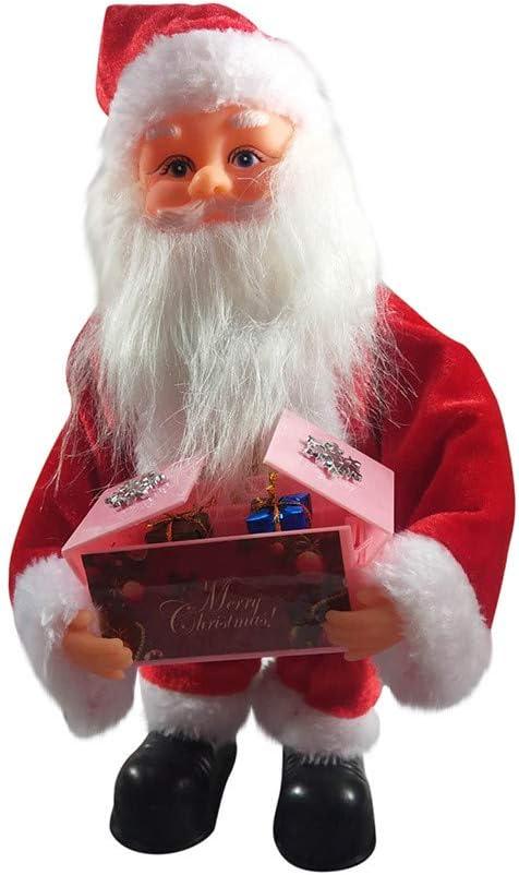 Gag Gifts for Christmas,Santa Claus Dancing Singing Doll As Plush Christmas Dolls Music Toy Christmas Ornaments 2020