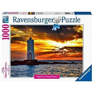 Ravensburger Puzzle Faro Di Mangiabarche Isola Di Santantioco Sardegna 16195 9
