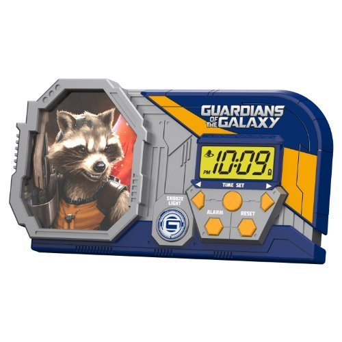 Guardians of the Galaxy Night Glow Alarm Clock by Guardians of the Galaxy