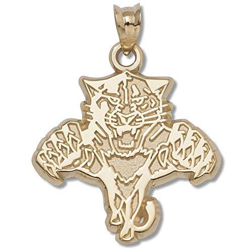Florida Panthers 10K Gold Pendant