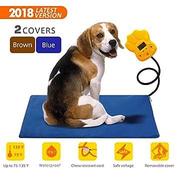 Amazon.com: Large Pet Heating Pad 30W | Outdoor Indoor