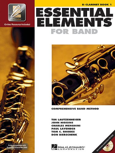 (Hal Leonard Essential Elements 2000 Clarinet Book 1 with Cd)