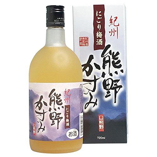 【蔵元の梅酒】【プラム食品株式会社】にごり梅酒熊野かすみ6本セット(720ml×6本) B00H5ID6QK