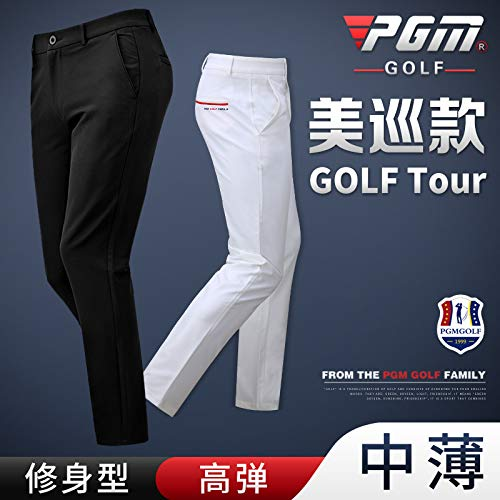 そして! PGMのゴルフパンツメンズパンツ高弾性スポーツボールパンツインポートファブリックスリム   B07S2D6HBZ