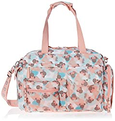 Disney Print Satchel Diaper Bag, Minnie Mouse Icon