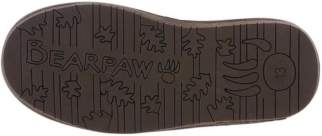 Bearpaw Boots Girls Emma Pull on Wool Child Chocolate Bronze 2