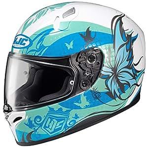 HJC FG-17 Flutura Full-Face Motorcycle Helmet (MC-2, X-Small)