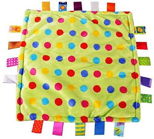 - Comforting Generic Confetti Baby Blanket with satin tags