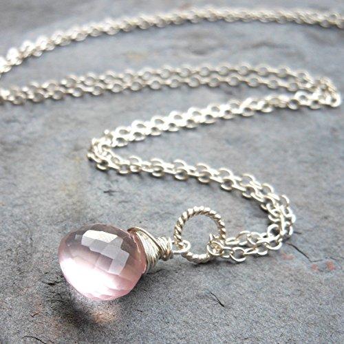 Quartz Briolette Necklace - 9
