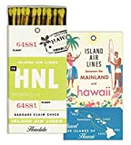 HomArt Matches - Hawaii (Set of 3)