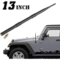GMC Cadillac Pickup Trucks /& SUVs ZHParty 4 1//3 inchs Fender Short Antenna Mast Perfect Replacement for 2007-2020 GM Chevrolet//Chevy Only fit Replaces for 7mm Fender Antenna Base