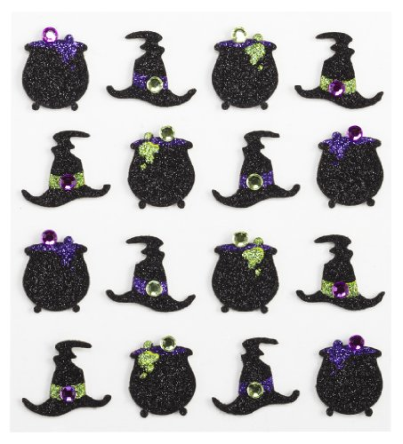 Jolee's Boutique Dimensional Stickers, Witches Hat