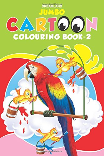 Jumbo Cartoon Colouring Book 2 (Jumbo Cartoon Colouring Books)
