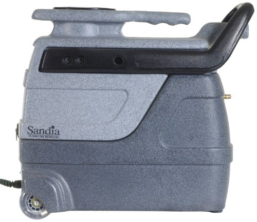 Sandia 50-1000 Spot-Xtract Commercial Extractor with Clear View Plastic Hand Tool, 3 Gallon Capacity