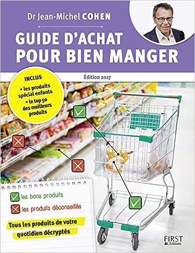 Guide d'achat pour bien manger - Jean-Michel COHEN sur Bookys