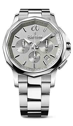 Corum Admiral's Cup Legend 42 Automatic Chronograph Steel Mens Watch Calendar 984.101.20/V705 FH10