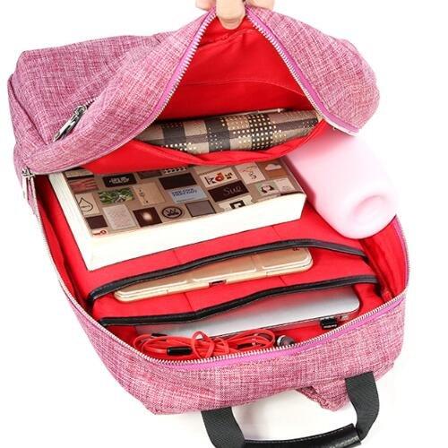 Mini mochila bolsas de hombro de nylon para las niñas de las mujeres, mochilas de peso ligero mochilas para viajes, senderismo, picnic, compras