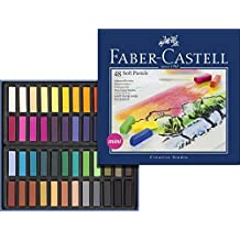 Faber-Castel FC128248 Creative Studio Soft Pastel Crayons (48 Pack), Assorted by Faber-Castel