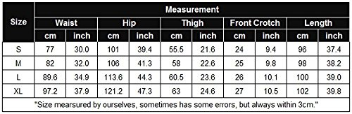 Goodfans Womens Lightweight Waterproof Casual Sports Hiking Pants, Black, Small