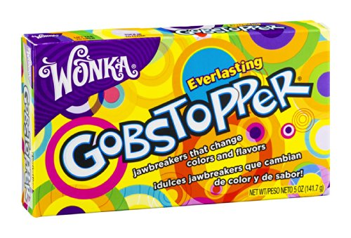 Wonka Everlasting Gobstopper Candy 5 OZ (Pack of 24) by Wonka