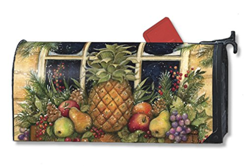 MailWraps Window Box Welcome Mailbox Cover 05000 Mailwraps Pineapples
