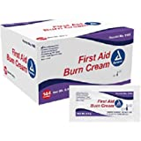 Dynarex First Aid Cream - Relieve Pain from Minor Cuts, Scrapes & Burns - 0.9g Foil Packets - 144 Count