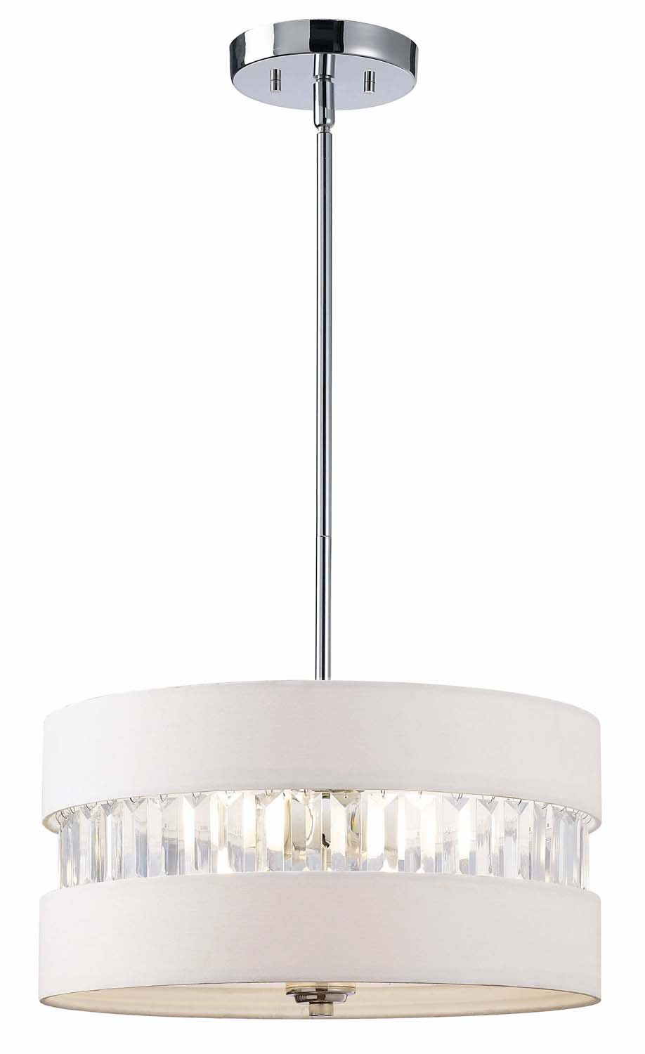canarm ich426a03ch16 ballard 3 light chandelier chrome amazon com