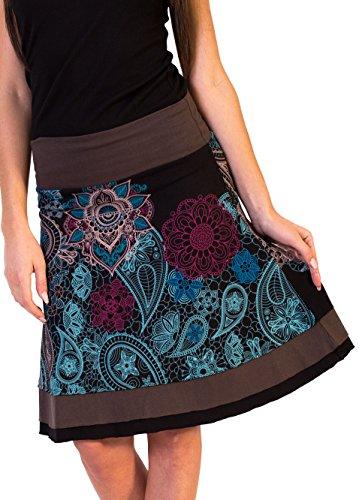 Coton Du Monde - Falda - para mujer Multicolor