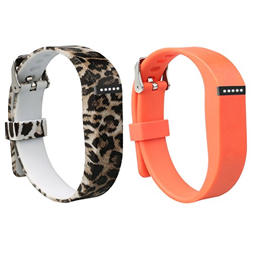 Doestyle Replacement Silicone Adjustable Wristbands