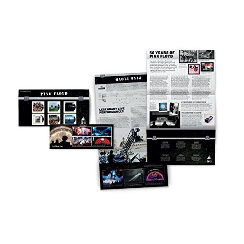 (Pink Floyd Presentation Pack - Six Album Covers and Miniature Sheet Collectible Postage Stamps Royal Mail)