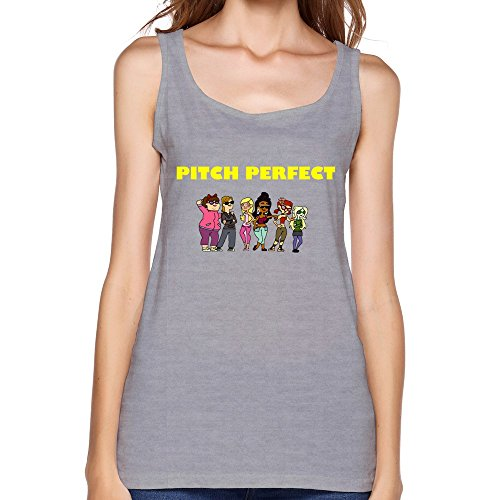 YIRONG Women's Pitch Perfect The Total Drama Version Tank Tops Size L