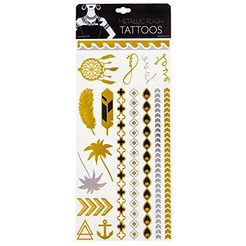 Nature Inspired Metallic Flash Tattoos by Style Essentials by STYLE ESSENTIALS (Image #1)