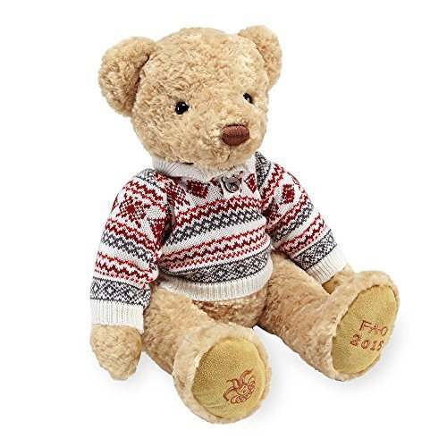 FAO Schwarz Plush Bear - 2015 Collector (Fao Schwarz Bear)