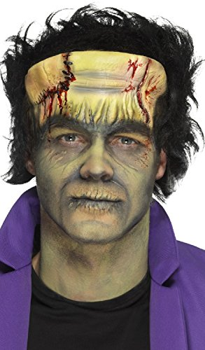 Halloween Horror Prosthetic Foam Latex Frankenstein Monster Special Effects Stage Quality Fancy Dress Costume Outfit Make Up Kit (Frankenstein) -