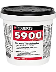 Roberts 5900-0 Ceramic Tile Adhesive, 1 Quart