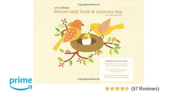 Keepsakes, Memory Books Keepsakes Charitable My Little Memory Box Baby Yellow
