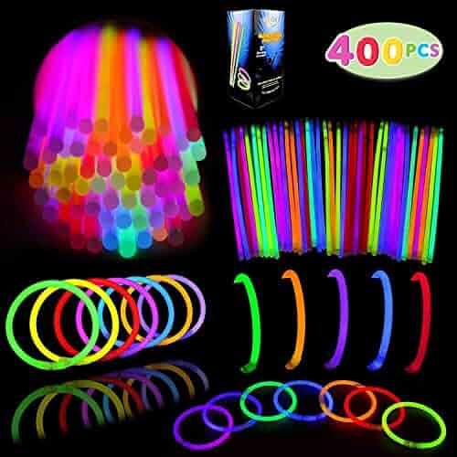 Joyin Toy Glow Sticks Bulk 400 8