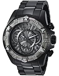 Invicta Mens Excursion Quartz Titanium and Stainless Steel Casual Watch, Color:Black (Model: 24269)