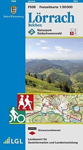 Lörrach: Belchen (Freizeitkarten 1:50000)