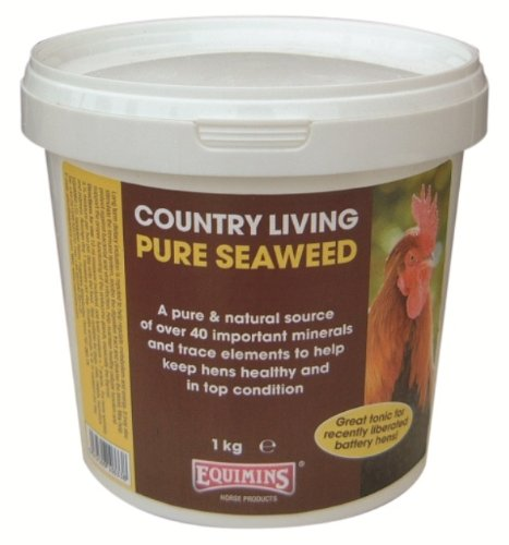 Equimins - Country Living Poultry Pure Seaweed x 1 Kg Smiths Health Ltd