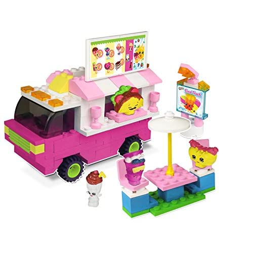 Shopkins 94894,4cm Kinstructions Nourriture Fair Camion