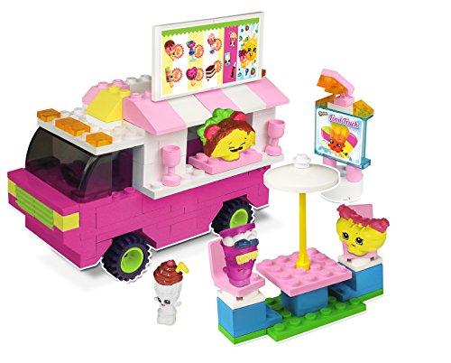 The Bridge Direct Shopkins Kinstructions Shopville Food Fair Truck