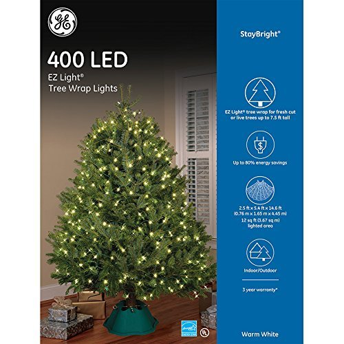General Electric Led Christmas Tree Lights